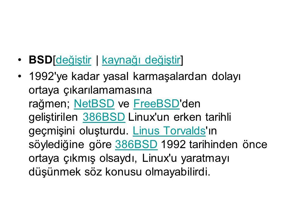 BSD[değiştir   kaynağı değiştir]